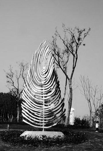 Ralfonso' s  kinetic wind sculpture Magic Tree