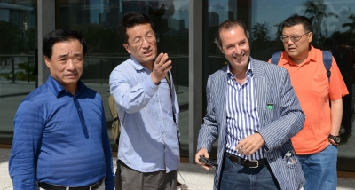 Delegation from Changchun, China visits Ralfonso in Miami, Florida, USA