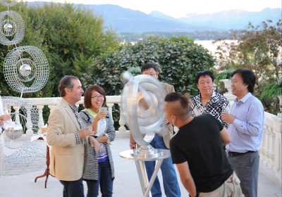 Changchun Sculpture Park Delegation Visits Ralfonso in Geneva
