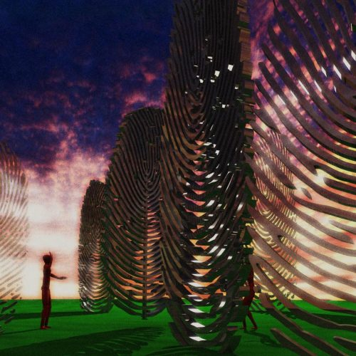 Ralfonso, Kinetic, Interactive, Sculpture, Public Art - Magic Tree - International Wuhu Sculpture Park, Anhui Province, China