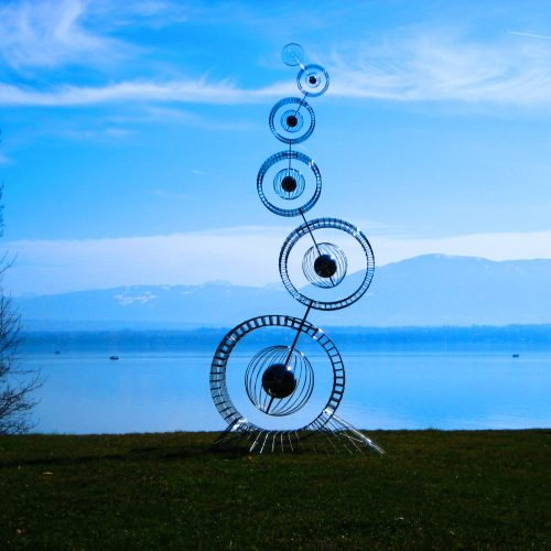 Ralfonso, Kinetic, Interactive, Sculpture, Public Art - Twist - Switzerland